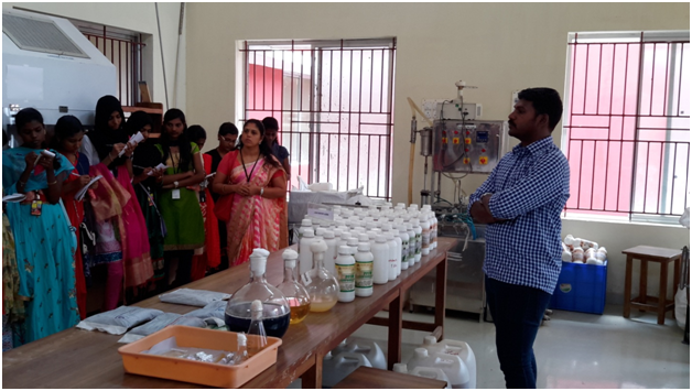 Industrial Visit  to Dept of Agriculture Microbiology,  TNAU, Coimbatore